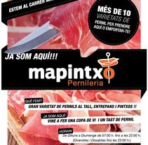 Diseño de Publicidad Mapintxo. Un proyecto de Diseño gráfico de Manuel Castaño Sanchez         - 25.02.2015