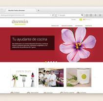 Guzmán Gastronomía. Un proyecto de Diseño Web de lilly maldonado         - 02.04.2013