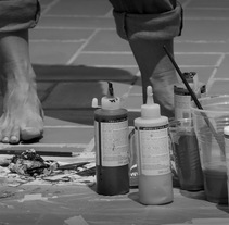 Taller de pintura intuitiva - adultos. A Fine Art project by Nicolas Morales Arregui - 28-02-2015