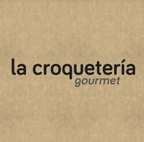 La Croquetería Gourmet. Um projeto de Br e ing e Identidade de Alex G. Santana         - 01.03.2015