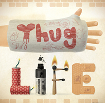 Thug Life. A Illustration, and Graphic Design project by Mario Rodriguez Ortega         - 04.03.2015