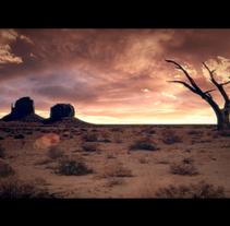 MattePainting y proyeccion - Desierto. Un proyecto de 3D, Animación, Post-producción y Vídeo de Alvaro Pomareta Moratalla         - 04.03.2015