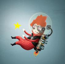 buscador de estrellas 2. A Illustration project by IlustrA         - 30.11.2014