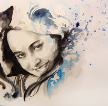 Laura. A Illustration, Fine Art, and Painting project by Cristina DM Marín         - 07.03.2015