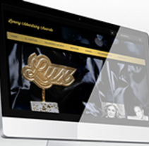 Luxury Advertising Awards Web. A UI / UX, Art Direction, Br, ing, Identit, and Web Design project by Victor Parras         - 13.09.2014