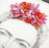 Frida Kahlo. A Illustration, Fine Art, and Graphic Design project by Olga M.         - 08.03.2015