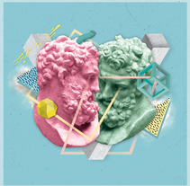 New Ugly. Um projeto de Ilustração, Artes plásticas, Design gráfico e Colagem de Alberto Cuenca Alvarez         - 21.10.2014