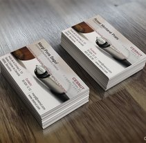 Business Card: CESNUT. A Br, ing, Identit, and Marketing project by Carla Dezart         - 20.01.2015