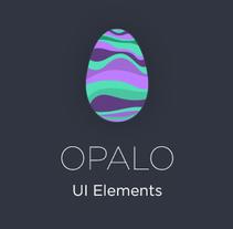 Opalo UI Elements. Um projeto de UI / UX, Direção de arte, Design gráfico e Web design de ▼ Pat Ba ▼  - 10-03-2015