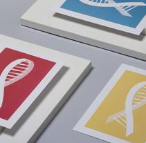 I Simposio Nacional Genómica Aplicada en Oncología - Fundación Quirón. A Design, Br, ing, Identit, and Events project by Ludivine Dallongeville         - 27.04.2015