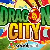 DRAGON CITY - CHARACTER DESIGN. Um projeto de Ilustração, Design de personagens e Design de jogos de Marc Valls         - 18.03.2015