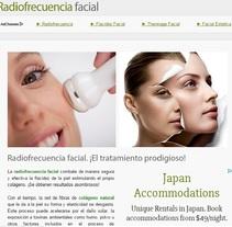 La Radiofrecuencia Facial. A Web Development project by Carolina Acosta Cruz         - 09.09.2014