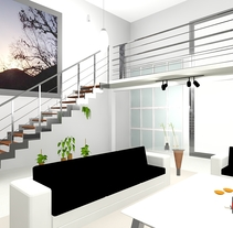 Diseño cocinas y apartamentos.. A Design, 3D, Furniture Design, Interior Architecture&Interior Design project by Rodrigo Paredes Martín - Ambrosio         - 22.03.2015