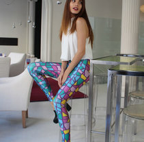 Legging Gaudí. A Design, and Costume Design project by Bevero  - 21-03-2015