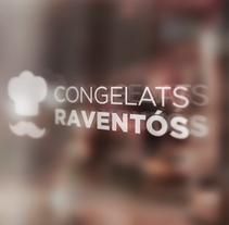 Congelats Raventós. Un proyecto de Diseño gráfico de btcom.          - 23.03.2015