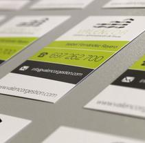 TARJETAS VALENCOR. Um projeto de Design gráfico de Fiebre Creativa         - 19.11.2014