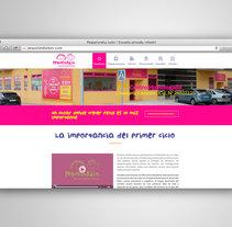 PEQUELANDIA WEB. Um projeto de Web design e Desenvolvimento Web de Fiebre Creativa         - 24.03.2015