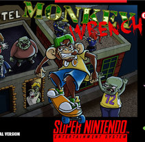 Portada ficticia para Super Nintendo. A Illustration project by María Alvarez Hortas - 30-04-2013