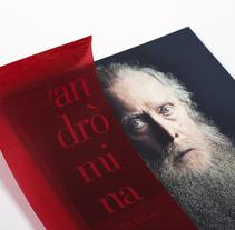 El sueño de andrómina. Un proyecto de Diseño editorial y Diseño gráfico de el bandolero Lacabra  - 30-03-2015