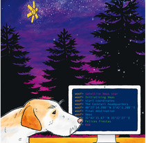Felicitación navideña. Un proyecto de Ilustración de Ajo Galván - Lunes, 01 de diciembre de 2014 00:00:00 +0100