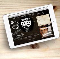 UX/UI | Diseño web y fotografia. A Photograph, UI / UX, Art Direction, Graphic Design, and Web Design project by Sandra Sanz         - 08.04.2015