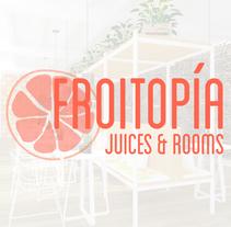 Froitopía Juices & Rooms. Um projeto de Design, Arquitetura, Arquitetura de interiores e Design de interiores de UVE Laboratorio de Diseño         - 14.04.2015