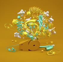 LOS 40: ANNUAL IMAGERY. Un proyecto de Publicidad, 3D y Dirección de arte de JVG         - 15.04.2015