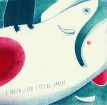 """L'elefant malalt"". . Um projeto de Ilustração de Sandra Rilova         - 15.04.2015"