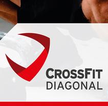 Crossfit Diagonal . A Editorial Design, Graphic Design, and Web Development project by Mediactiu agencia de branding y comunicación de Barcelona  - Apr 17 2015 12:00 AM