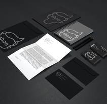 Shon Identidad Corporativa. Um projeto de Br, ing e Identidade e Design gráfico de Ramón Albarrán         - 12.04.2015