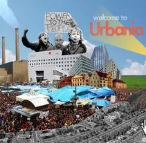 Urbania (webdoc prototype). Un proyecto de Motion Graphics, Collage y Vídeo de Natxo Medina - 21-04-2015