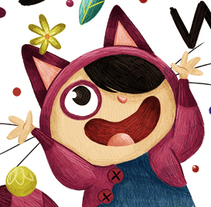 Born to be Wild. A Fine Art, Character Design&Illustration project by Núria  Aparicio Marcos - 04.22.2015