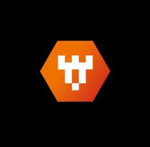 Torres Developer Logo. Un proyecto de Br e ing e Identidad de Juan José Díaz Len         - 01.05.2015