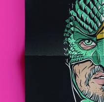 Personajes. Un proyecto de Ilustración, Diseño gráfico y Serigrafía de Matu Santamaria - 03-05-2015