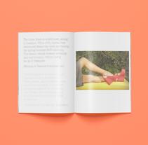 Castañer S/S 13. Un proyecto de Diseño editorial de Cristina  Font - 06-05-2015