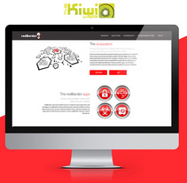 redBorder web design. Um projeto de Web design de Raquel Paramio Sastre         - 07.05.2015