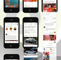 Diseño, UX, UI para App. Red social. A UI / UX&Information Architecture project by Oscar Orosa - 07-05-2015