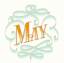 May. A Graphic Design, T, pograph, and Calligraph project by Mercè Núñez Mayoral - 18-05-2015