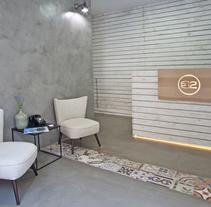 CLÍNICA DR. VICENTE PASCUAL. Un proyecto de Diseño, Arquitectura, Br, ing e Identidad, Arquitectura interior y Diseño de interiores de elaticointeriorismo  - 19-05-2015