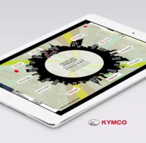 KYMCO K-XCT. A Web Development project by Julieta Kozlowski Cherñajovsky - 16-03-2015