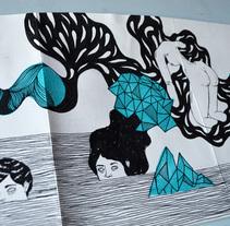 Proceso dibujo en una Croquera Humboldt de 5m.. A Illustration project by Byron Maher ( bymah ) - 29-05-2015