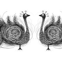 """Etiquetas vino """"Señorío de la Peña"""". A Design, Br, ing, Identit, and Graphic Design project by Nuria San José Martín - 30-05-2015"""