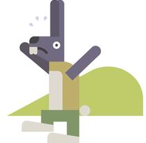 La liebre y la tortuga. Un proyecto de Comic, Diseño e Ilustración de Stereoplastika  - Miércoles, 03 de junio de 2015 00:00:00 +0200