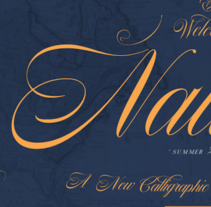 Nautica. A Calligraph, Graphic Design, T, and pograph project by Giuseppe Salerno - 09.03.2014
