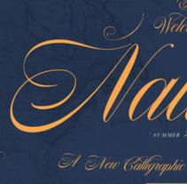 Nautica. Un proyecto de Diseño gráfico, Tipografía y Caligrafía de Giuseppe Salerno  - 02-09-2014