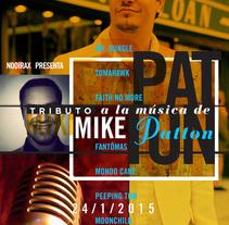 Tributo a la música de Mike Patton. Un proyecto de Dirección de arte, Diseño gráfico, Música y Audio de Cristo Aleister™  - Sábado, 24 de enero de 2015 00:00:00 +0100