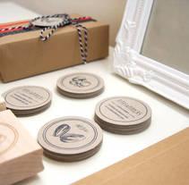 Mi Proyecto del curso Identidad visual handmade-Pipas & Pipocas. Un proyecto de Br, ing e Identidad, Artesanía y Diseño Web de Rocío Albertos Casas - 11-06-2015