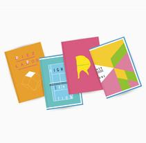 Cuadernos.. Un proyecto de Diseño, Ilustración y Diseño gráfico de María Constanza Lastra - 06-05-2014