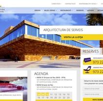La llotja de Lleida. A Web Design, and Web Development project by Carles Axon         - 14.06.2015