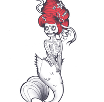 TATTOO COMMISIONES. Um projeto de Ilustração de cakes and ink         - 16.06.2015